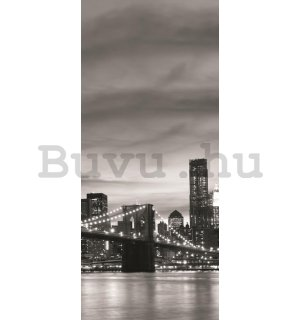 Öntapadós fotótapéta: Brooklyn Bridge - 211x91 cm