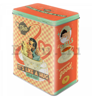 Fémdoboz L - Tea It's Like A Hug in a Cup (Special Edition)