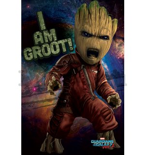 Plakát - Guardians of the Galaxy vol.2 (I am Groot!)