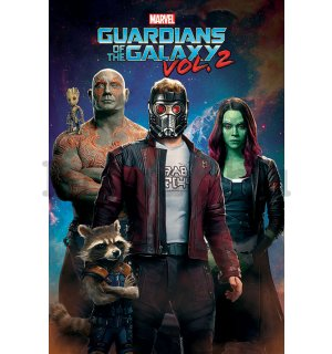 Plakát - Guardians of the Galaxy vol.2 (1)