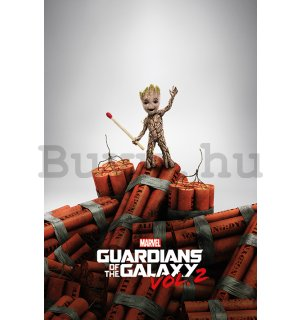 Plakát - Guardians of the Galaxy vol.2 (Groot)