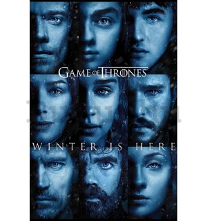 Plakát - Game of Thrones (Winter is Here)