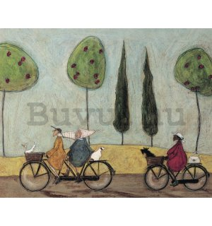 Vászonkép - - Sam Toft, A Nice Day for It