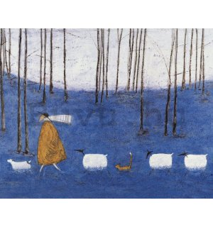 Vászonkép - Sam Toft, Tiptoe throgh the Bluebells