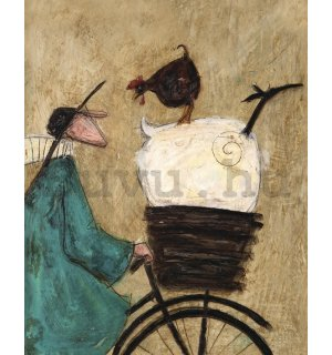 Vászonkép - Sam Toft, Taking the Girls Home