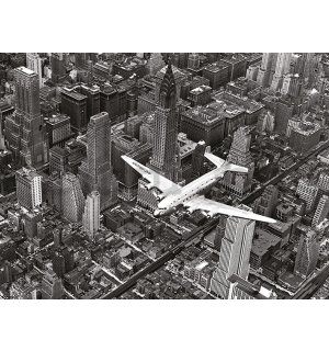 Vászonkép - Time Life, DC-4 Over Manhattan