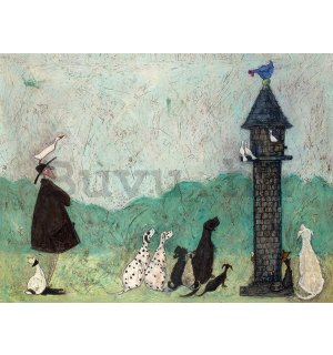 Vászonkép - Sam Toft, An Audience with Sweetheart