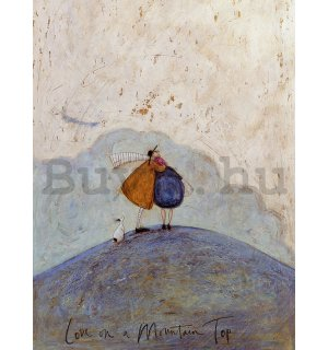 Vászonkép - Sam Toft, Love on a Mountain Top