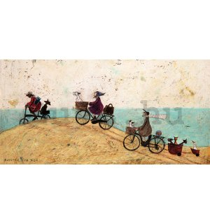 Vászonkép - Sam Toft, Electric Bike Ride