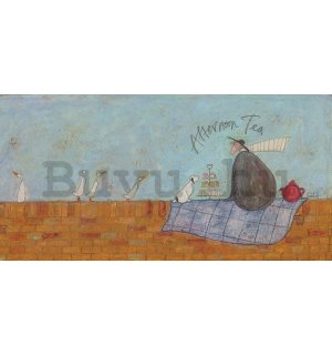 Vászonkép - Sam Toft, Afternoon Tea