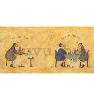 Vászonkép - Sam Toft, Tea For Two Tea For Three