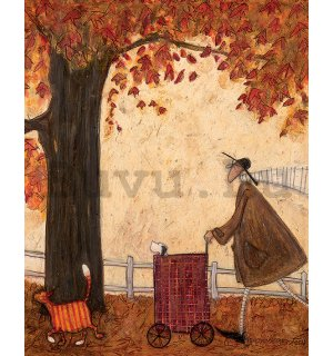 Vászonkép - Sam Toft, Following The Pumpkin