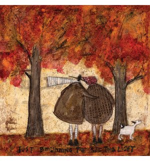 Vászonkép - Sam Toft, Just Beginning To See The Light