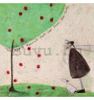 Vászonkép - Sam Toft, The Apple Doesn't Fall Far From Tree