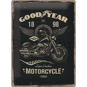 Fémtáblák: Good Year (Motorcycle) - 40x30 cm