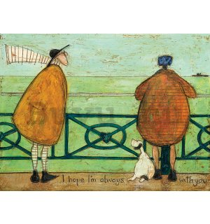 Vászonkép - Sam Toft, I Hope I'm Always with You
