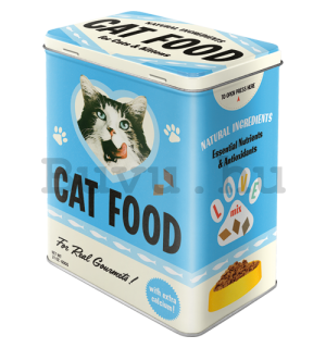 Fémdoboz L - Cat Food