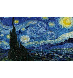 Vászonkép: Star Night, Vincent van Gogh - 75x100 cm