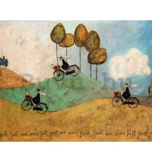 Vászonkép - Sam Toft, Just One More Hill