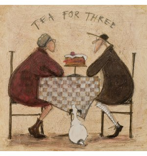 Vászonkép - Sam Toft, Tea For Three 2