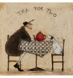 Vászonkép - Sam Toft, Tea For Two