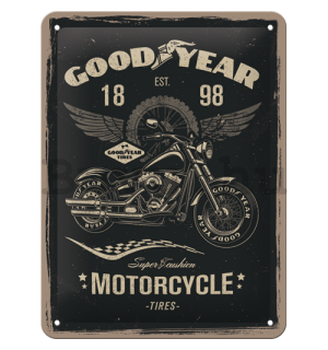 Fémtáblák: Good Year (Motorcycle) - 20x15 cm
