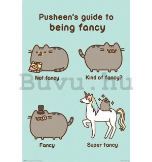 Plakát - Pusheen (Super Fancy)