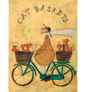 Vászonkép - Sam Toft, Cat Baskets