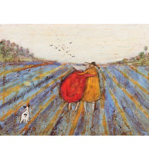 Vászonkép - Sam Toft, A Day in Lavender