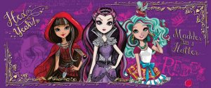 Fotótapéta: Mattel Ever After High (4) - 104x250 cm