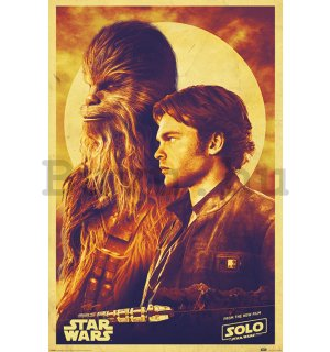 Plakát - Solo A Star Wars Story (Han and Chewie)