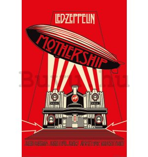 Plakát - Led Zeppelin (Mothership Red)