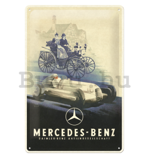 Fémtáblák: Mercedes-Benz (Silver Arrow Historic) - 30x20 cm