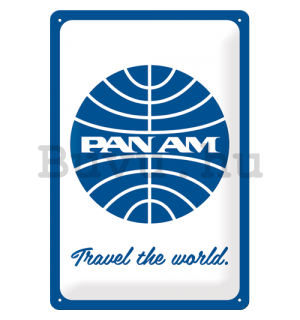 Fémtáblák: Pan Am (Travel the world) - 30x20 cm