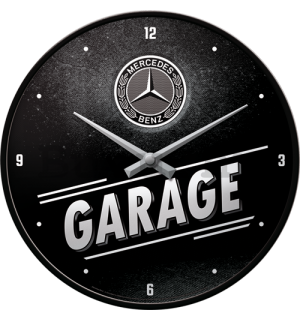 Retró óra - Mercedes-Benz Garage