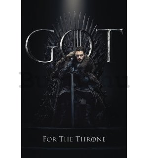 Plakát - Game of Thrones (Jon For the Throne)