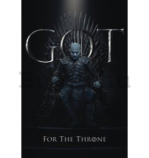 Plakát - Game of Thrones (The Night King For the Throne)