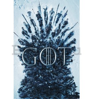 Plakát - Game of Thrones (Throne of the Dead)