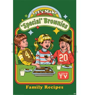 Plakát - Let's Make Special Brownies, Steven Rhodes