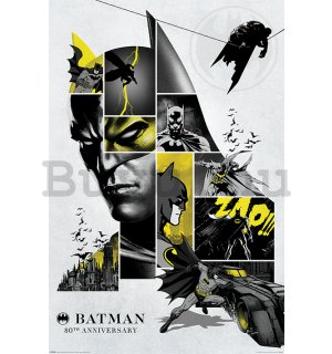 Plakát - Batman 80th Anniversary