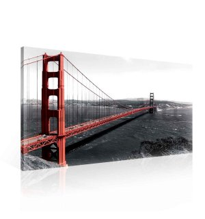 Vászonkép: Golden Gate Bridge (3) - 75x100 cm