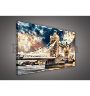 Vászonkép: Tower Bridge (3) - 75x100 cm