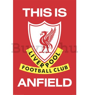 Plakát - Liverpool Fc (This Is Anfield)