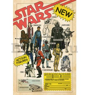 Plakát - Star Wars (Action Figures)