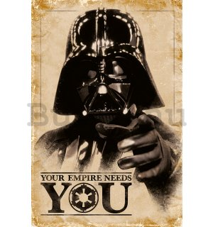 Plakát - Star Wars (Your Empire Needs You)