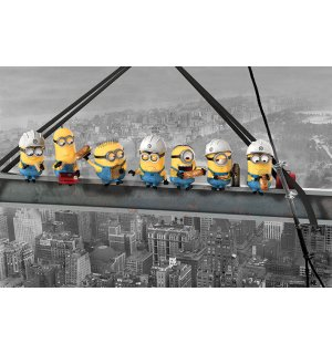 Plakát - Despicable Me (Minions Lunch on a Skyscraper)