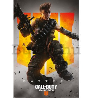Plakát - Call of Duty: Black Ops 4 (Battery)