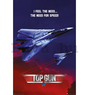 Plakát - Top Gun (The Need For Speed)
