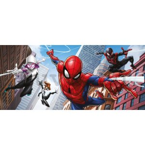 Vlies fotótapéta: Spiderman Spider-Verse (2) - 202x90 cm