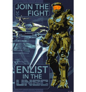 Plakát Halo Infinite (Join The Fight)